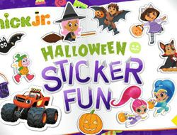 Nick Jr Halloween Sticker Fun