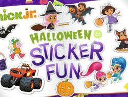 Nick Jr Halloween Sticker Fun