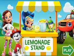 Nick Jr Lemonade Stand