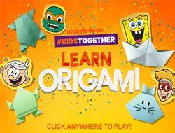 Nickelodeon Learn Origami