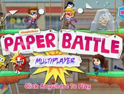 Nickelodeon: Paper Battle Multiplayer