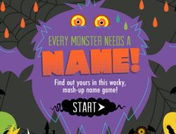 Nickelodeon Whats Your Monster Name
