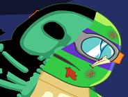 Ninja Turtle Spinal Surgery