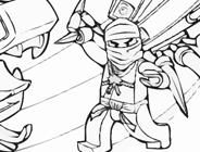 Ninjago Coloring