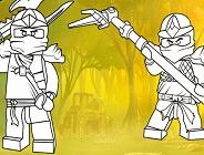 Ninjago Coloring Page 2