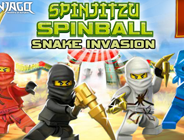Ninjago Spinjitzu Spinball Snake Invasion