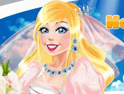 Now and Then Barbie Wedding Day