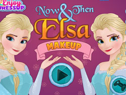 Now and Then: Elsa Makeup