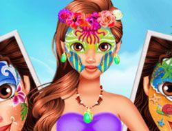 Oceania Princess Moana Face Art