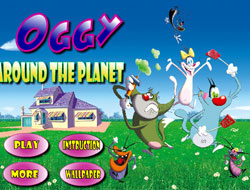 Oggy Around the Planet