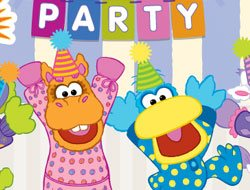 Pajanimals Birthday Party