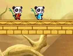 Panda in the Desert