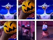 Pat the Dog Halloween Memory
