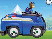 Paw Patrol Car Race
