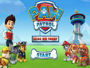 Paw Patrol Miss or Treat