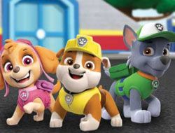Paw Patrol Word Train