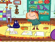 Peg Plus Cat Jigsaw