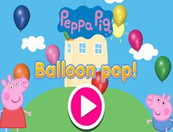 Peppa Pig Balloon Pop