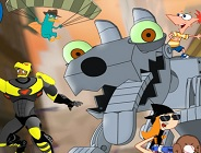 Phineas and Ferb Robot Riot