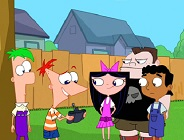 Phineas and Ferb with Friends Puzzle