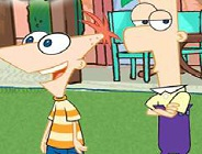 Phineas Tic Tac Toe