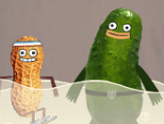 Pickle and Peanut Mjart Mart Madness