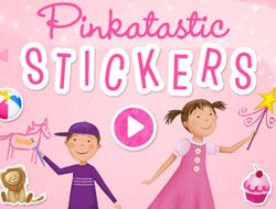 Pinkatastic Stickers