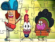 Pinky Malinky Jigsaw