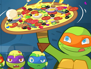 Pizza Like  a Turtle Do!