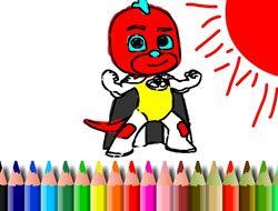 PJ Masks BTS Coloring Book