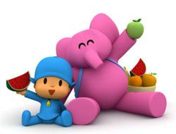 Pocoyo The Fruit Game