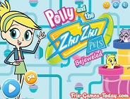 Polly and the Zhu Zhu Pets Bejeweled