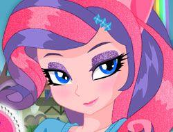 Pony Girl Unique Makeup