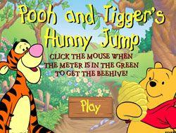 Pooh and Tiggers Hunny Jump