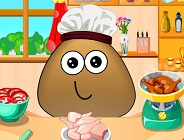 Pou Cooking Lesson