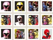 Power Rangers Ninja Steel Memory Game
