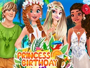 Princess Birthday in Hawaii
