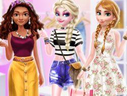 Princess Different Style Fashion