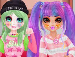 Princess E-Girl vs Soft-Girl