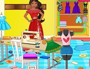 Princess Elena Tailoring Room Cleaning