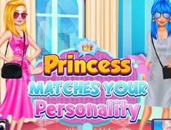Princess Matches Your Personality