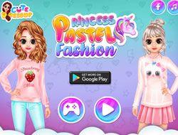 Princess Pastel Fashion