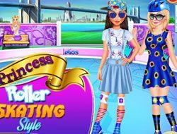 Princess Roller Skating Style