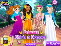 Princess Shirts N Dresses