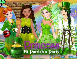 Princess St Patricks Party