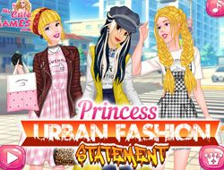 Princess Urban Fashion Statement