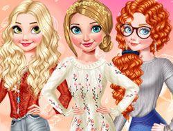 Princesses Autumn Knits And Nails