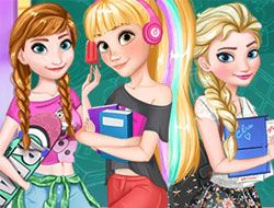 Princesses Back to School