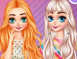 Princesses Contest Stripes vs Dots
