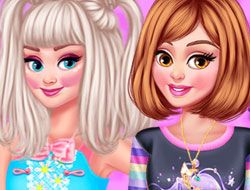 Princesses Costume Party